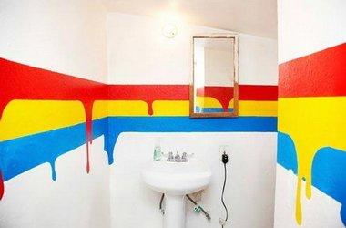 Правильно красим ванную комнату